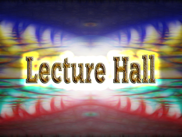 Yahweh's Lecture Hall